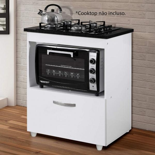 8698726412 1 G Balco para Cooktop 1 Porta Basculante Salvia