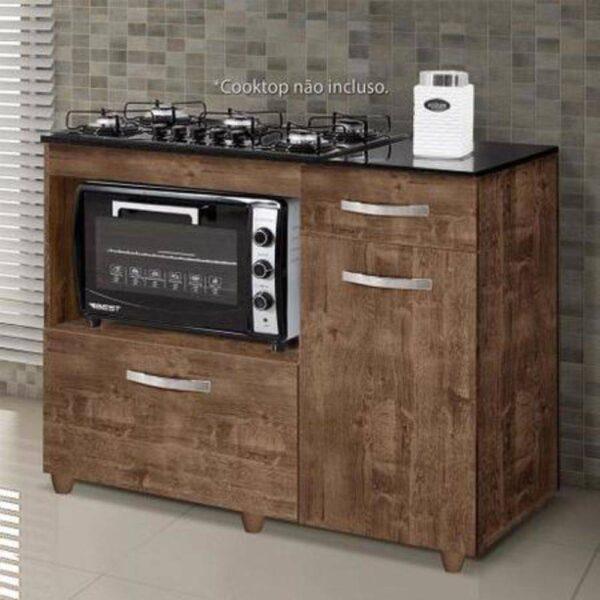 8699705619 2 GG Balco Cozinha para Cooktop 5 Bocas com 2 Por
