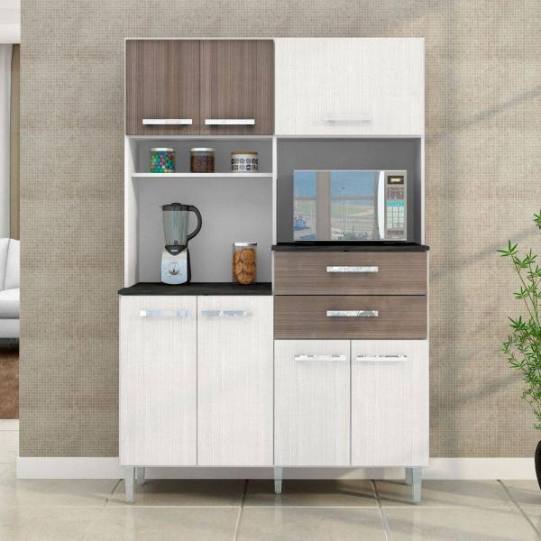 8721776419 1 G Kit Cozinha Compacta Flvia 7 Portas E 2 Gave