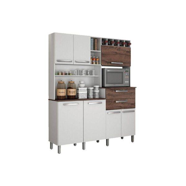 8721917720 1 GG Armrio para Cozinha 7 Portas Monte Rey Valde