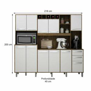 ValdemC3B3veis Cozinha Compacta Petra 11 PT 2 GV IpC3AA e Branca 1386 042516 2