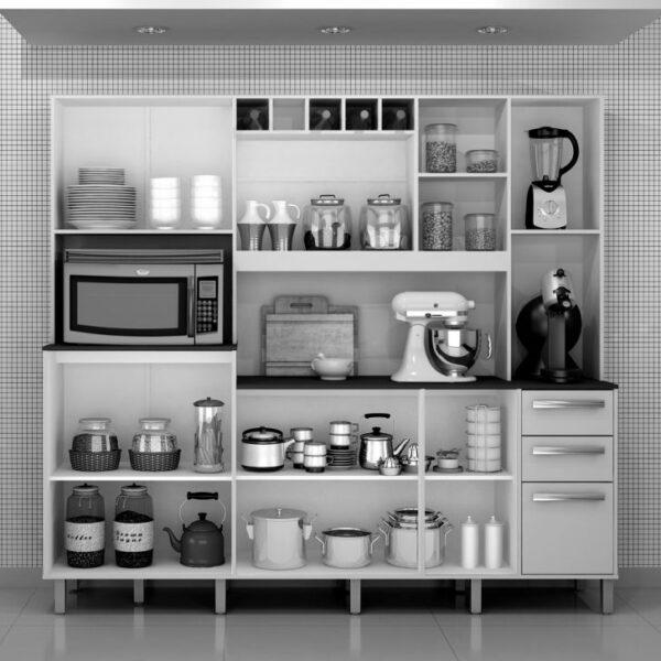 ValdemC3B3veis Cozinha Compacta Petra 11 PT 2 GV IpC3AA e Branca 1386 042516 3 zoom