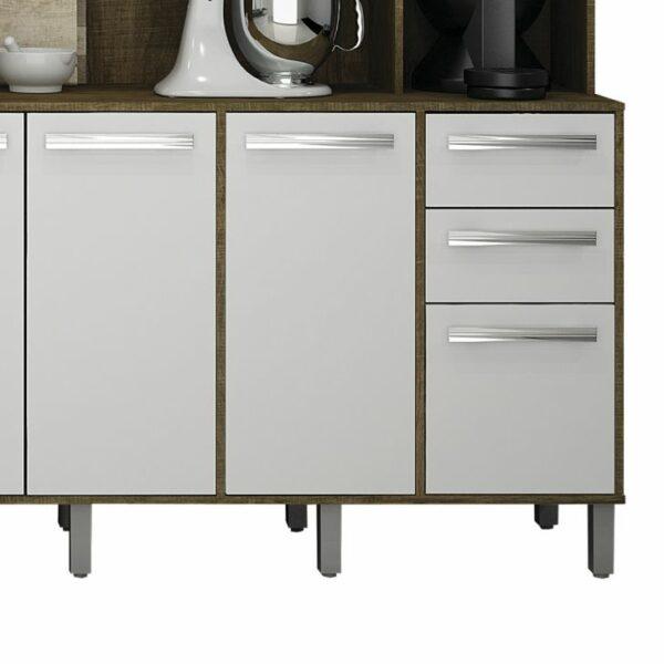 ValdemC3B3veis Cozinha Compacta Petra 11 PT 2 GV IpC3AA e Branca 1386 042516 5 zoom