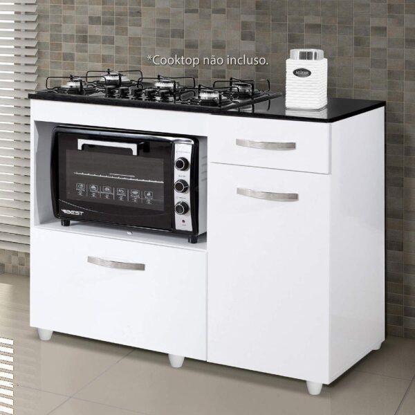 8699726772 688 GG Balco Cozinha para Cooktop 5 Bocas com 2 Por