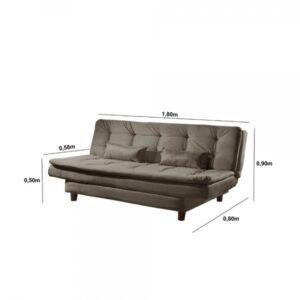 9285358970 8688399905 1 G Sofa Cama 3 Lugares Luxo Estofados Cappuccin202