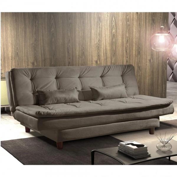 9285360866 8688400148 1 G Sofa Cama 3 Lugares Luxo Estofados Cappuccin
