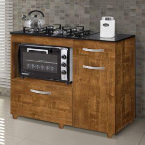 9285401114 8699426236 692 G Balco Cozinha para Cooktop 4 Bocas com 2 Por