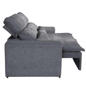 10462260543 Sofa Retratil e Reclinavel Uba 195cm Lado