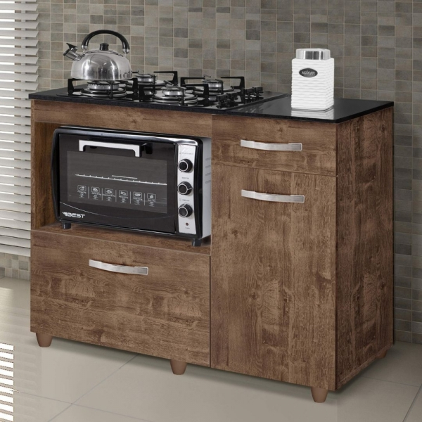 8688969543 693 G Balco Cozinha para Cooktop 4 Bocas com 2 Por